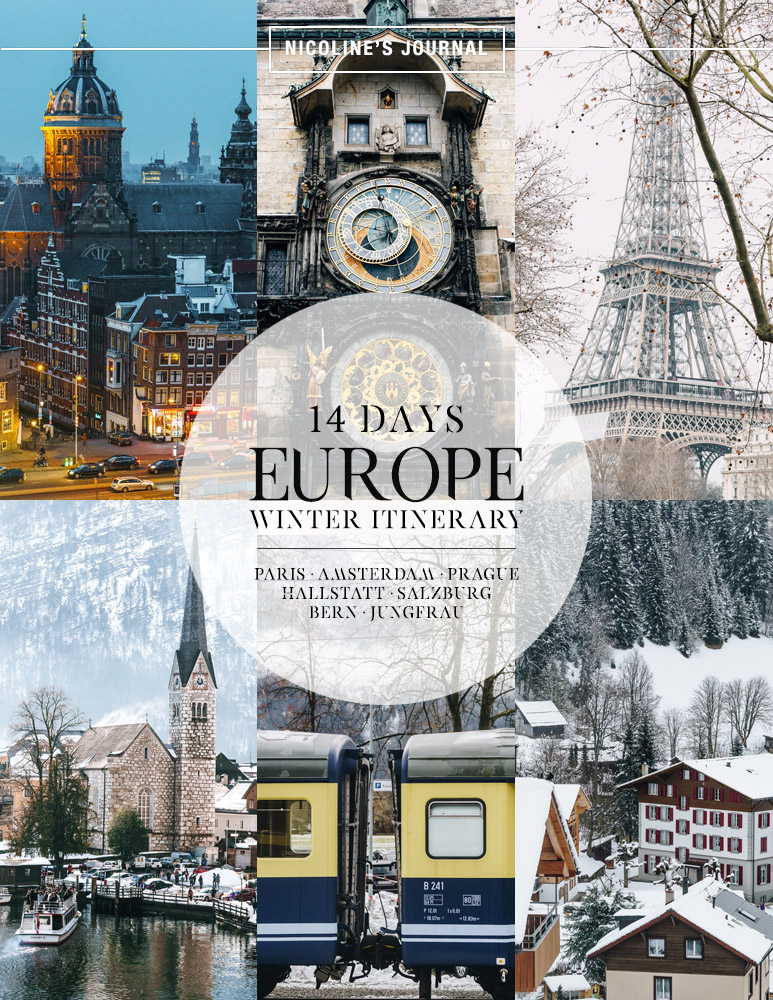 Europe Diary 14 Days Photo Itinerary To The Winter